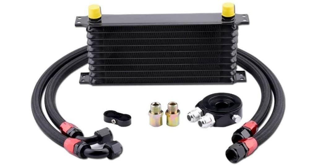 Oil Cooler EVIL ENERGY 10 Row AN10-10AN