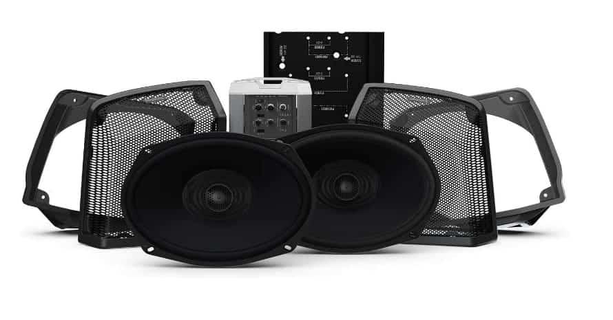 Rockford Fosgate Two Speakers Amplifier Kit