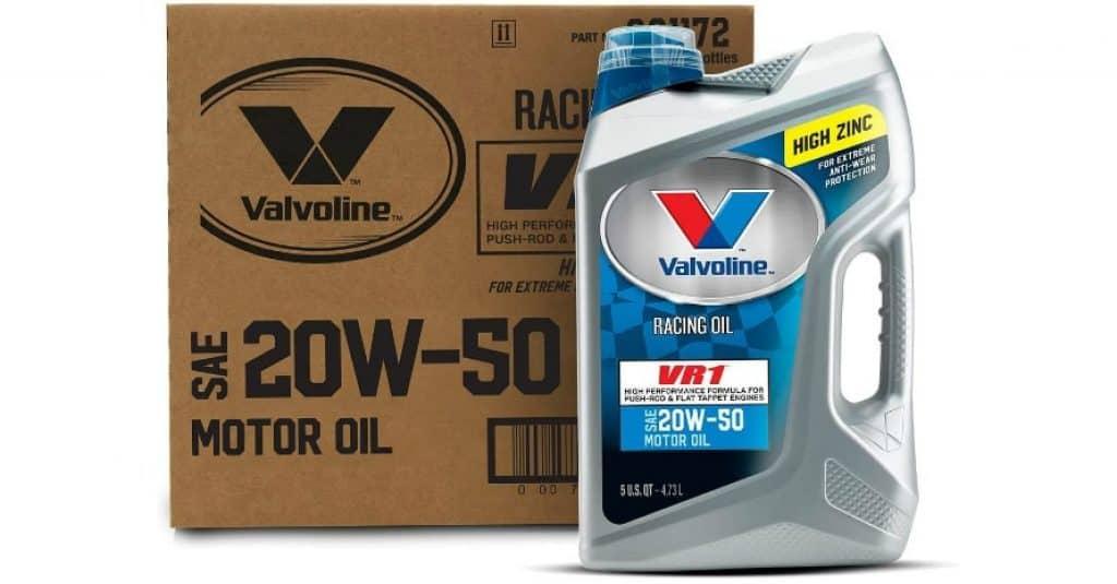 Valvoline VR1 Racing Engine Oil